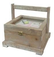 Полезные вещи: деревянная шкатулка для ниток (пв-04)