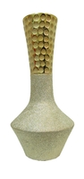 Ваза керамическая, горлышко сужается (вк-136)