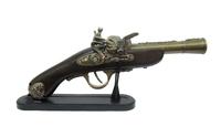 Оружие сувенирное: пистоль-зажигалка, ствол лев (ос-67)