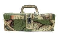 Винный набор на одну бутылку с набором сомелье, с рисунком карты, 2 вида (вн-02)