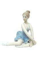 Керамическая фигура: балерина сидит (кф-17)