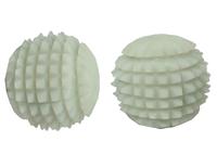 Нефритовые массажеры: 1 массажный шар для рук, ребристый, большой (нм-65)