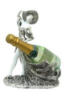 Фигура: девушка в шляпе - подставка под бутылку (пф-37)