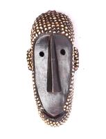 Маска африканская ритуальная, племя Маконда, дерево цейба (мэ-24-16)