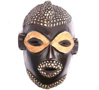 Маска африканская ритуальная, племя Маконда, дерево цейба (мэ-24-17)