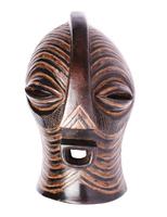 Маска африканская ритуальная, дерево цейба (мэ-27-04)