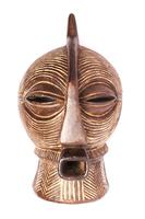 Маска африканская ритуальная, дерево цейба (мэ-27-05)