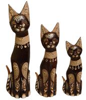 Кот набор коричневый с песком и ракушками ( кн-221, кн-222, кн-223)