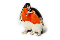 """Шкатулка для колечек """"пингвины"""" жз-36"""