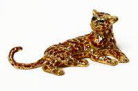 "Шкатулка для колечек ""леопард"" жз-33"