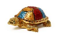 """Шкатулка для колечек """"черепаха"""" (жз-15)"""