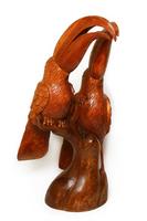 Два тукана на ветке дерево Мэх (тм-06)