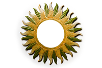 Солнышко с зеркалом, (Индонезия), 4 вида, d-50 см (си-229)