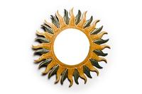 Солнышко с зеркалом, (Индонезия), 4 вида, d-40 см (си-228)