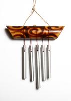 Музыка ветра бамбук и пять трубочек (мв-02)