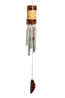 Музыка ветра бамбук с соломенным плетением (мв-06)