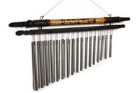 Музыка ветра бамбук 17 трубочек (мв-09)