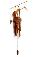 Музыка ветра яркая птица с противовесом (бв-39)