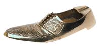 Пепельница латунная в виде мужского туфля ( пл-173)