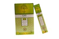 Благовоние пыльцовое Life-Лайф, (Sree Vani), 15 гр, 12 шт/уп (б-01-03)