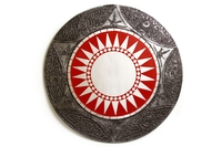 Солнышко с зеркалом серебристый край 6 видов (си-221а)