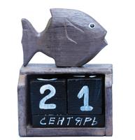 Календарь фигура рыба(ка-44)