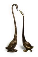 Лебедь латунный, пара (лл-07)