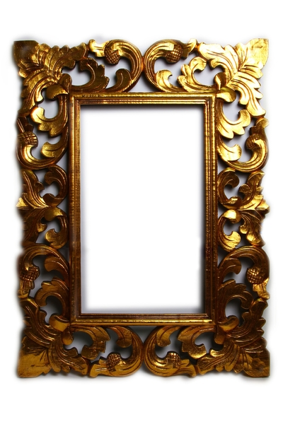 Рама под зеркало, дерево кеппел, рама узор 60*80, 3 вида, (си-111)