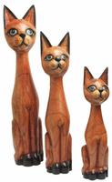 Кот саура с голубыми глазами дерево джимпиниш ( кс-42, ка-43,ка-44)