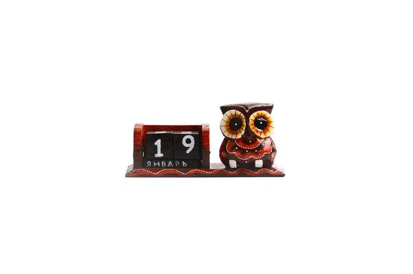 Календарь с совой  (ка-37)