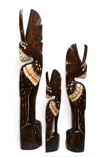 Пеликан семья, 2 цвета (пт-171-172-173)