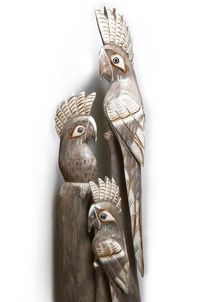 Попугаи семья, 2 цвета (пт-174-175-176)
