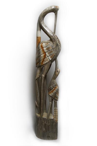 Журавль с птенцом, 2 цвета (пт-150,151,152)