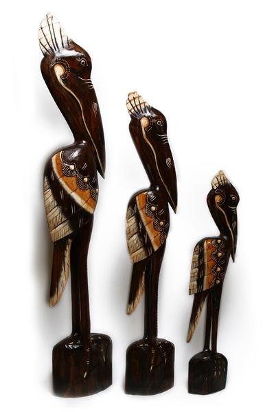 Пеликаны семья 2 вида (пт-165-166-167)