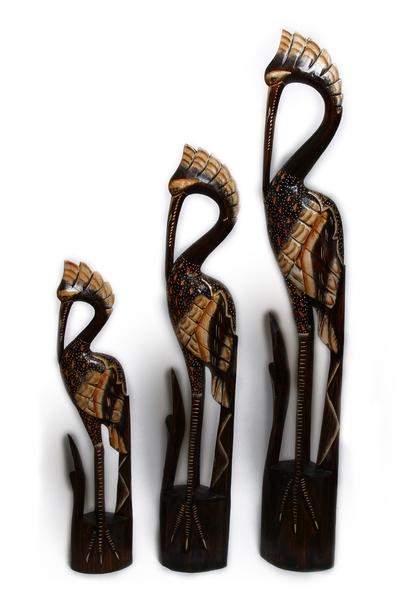 Цапля с камышом, 2 цвета (пт-159-160-161)