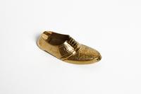 Пепельница  латунная в виде мужского туфля (пл-170)