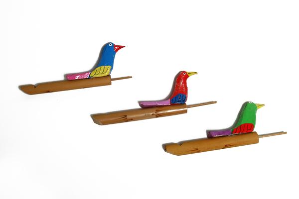 Музыкальный инструмент (птичка-свистулька) (мп-03-3)