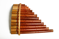 Музыкальный инструмент пан-флейта (мп-05г)