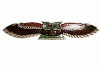 Панно сова с распростёртыми крыльями, 3 вида (с-242)
