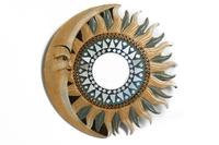 Солнышко-зеркало, ( Индонезия), d-40 см, 4 вида (си-234)