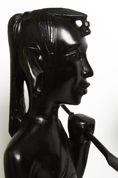Фигура эбеновая, пара: торс масаи (фэ-63-2)