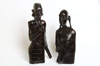 Фигура эбеновая, пара: торс масаи (фэ-63-3)