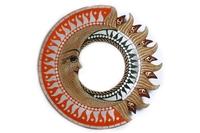 Солнышко-зеркало, (Индонезия), d-40 см, 6 видов (си-211)