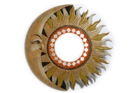 Солнышко-зеркало, (Индонезия), d-40 см, 4 вида, (си-236в)