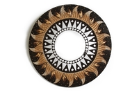Солнышко зеркало Индонезия, 7 видов, d-40 см, (си-222)