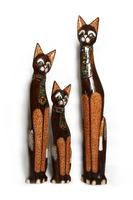 Набор котов коричневые (к-896-897-898)