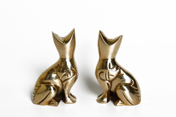 Котики латунные (Кл-101)