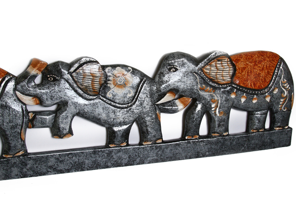 Панно со слониками (с-243)