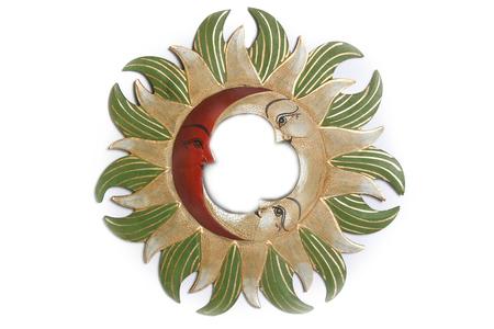 Солнышко-зеркало, (Индонезия), d-40 см, 4 цвета (си-242)