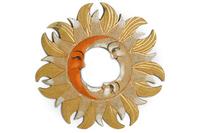 Солнышко-зеркало, (Индонезия), d-50 см, 4 цвета (си-243а)